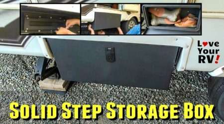 Installing the Solid Step Storage Box from Lippert Components