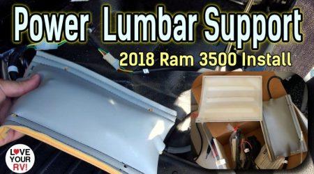 Aftermarket Power Lumbar Install – 2018 Ram 3500 Truck Seat