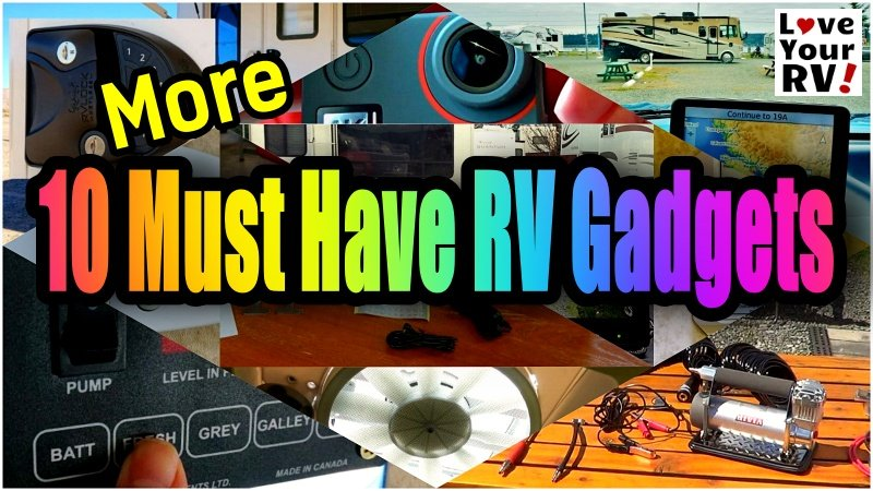 10 More Must Have RV Gadgets Feature Photo