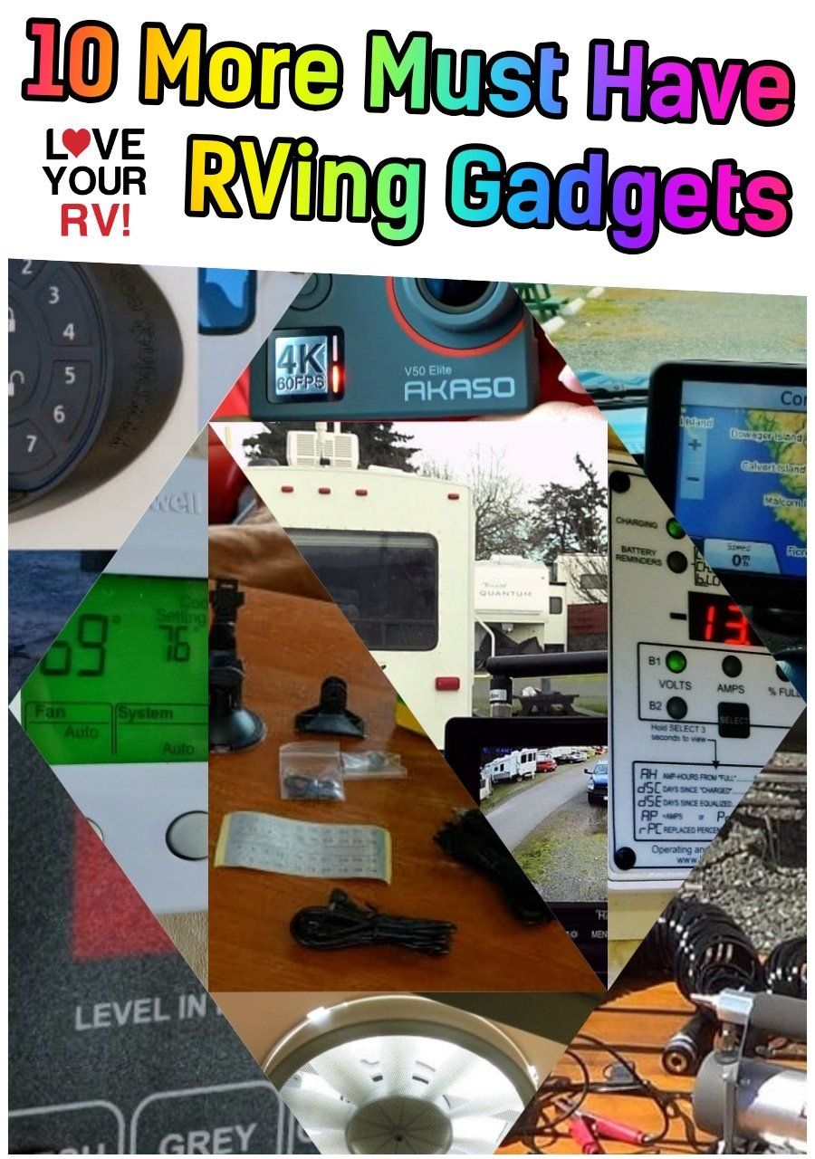 10 More Must Have RV Gadgets from Love Your RV!