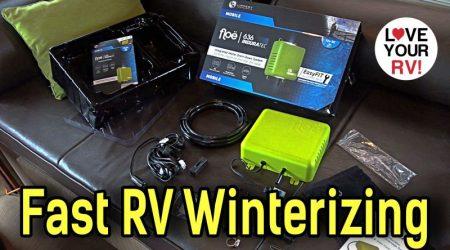 Lippert Floë Automatic RV Drainage System – Quick & Simple Winterizing