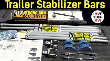 JT's Strong Arm Trailer Stabilizers Install and Review
