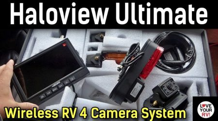 Installing the Haloview Ultimate RD7R Wireless RV 4 Camera System