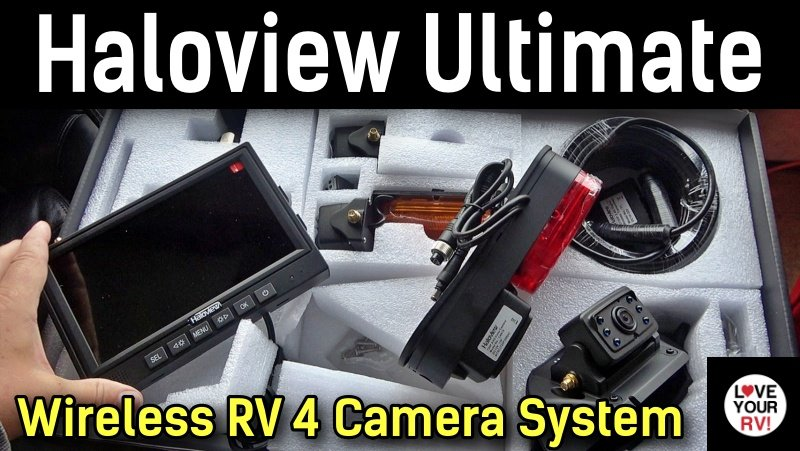 Haloview RD7R Wireless RV Camera Feature Photo