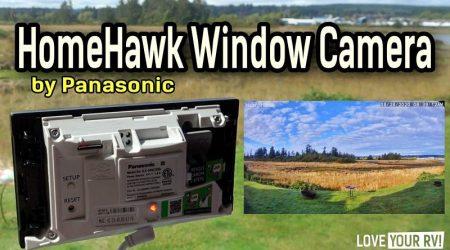 Panasonic HomeHawk Window Camera Review (RV Security)