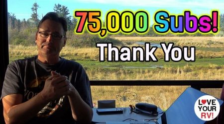 LYRV hits the 75000 YouTube Subscriber Milestone – Thank You!