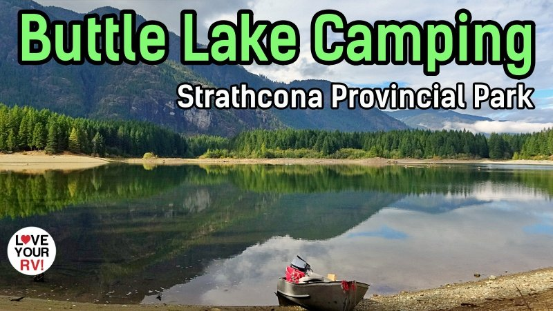 Buttle Lake Campground Feature Photo