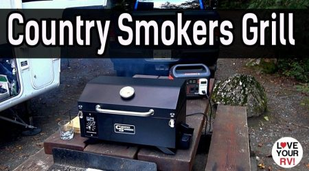 Country Smokers Traveler – Portable Electric Wood Pellet Grill