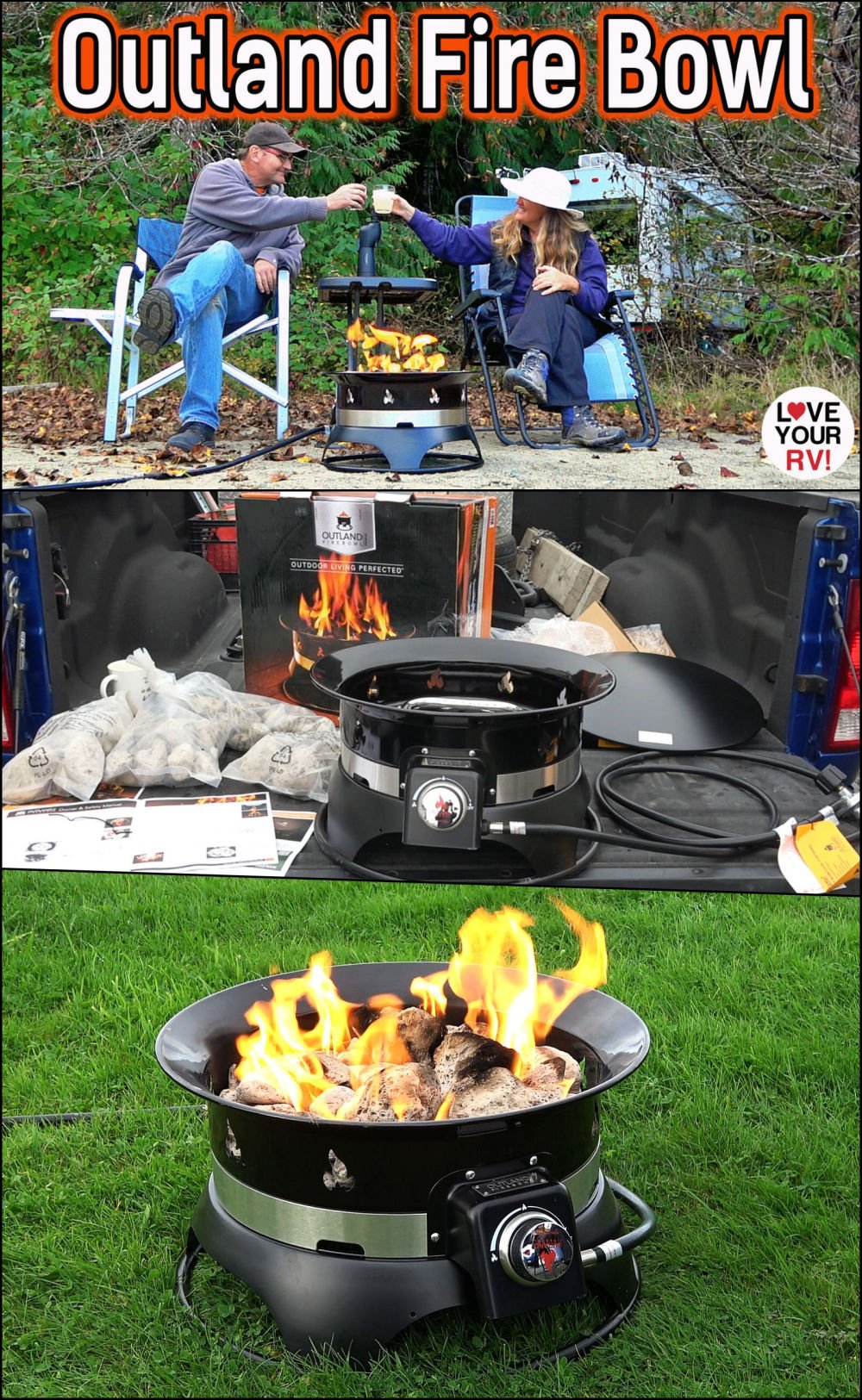 Demo and Review of the Outland Fire Bowl model 870