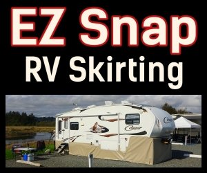 EZ Snap RV Skirting