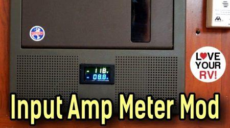 Input RV AC Power Meter Install Mod – Displays Total AC Amperage Draw