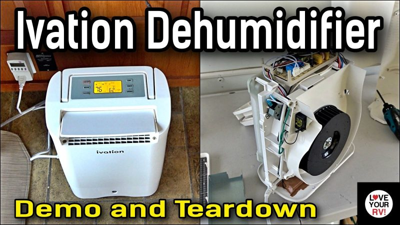 Ivation Dehumidifier Demo and Tear Down
