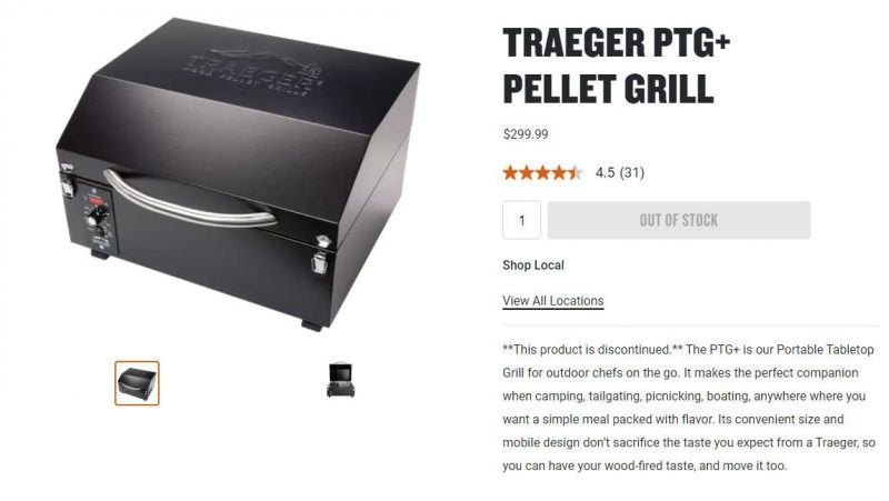 Traeger Portable Grill