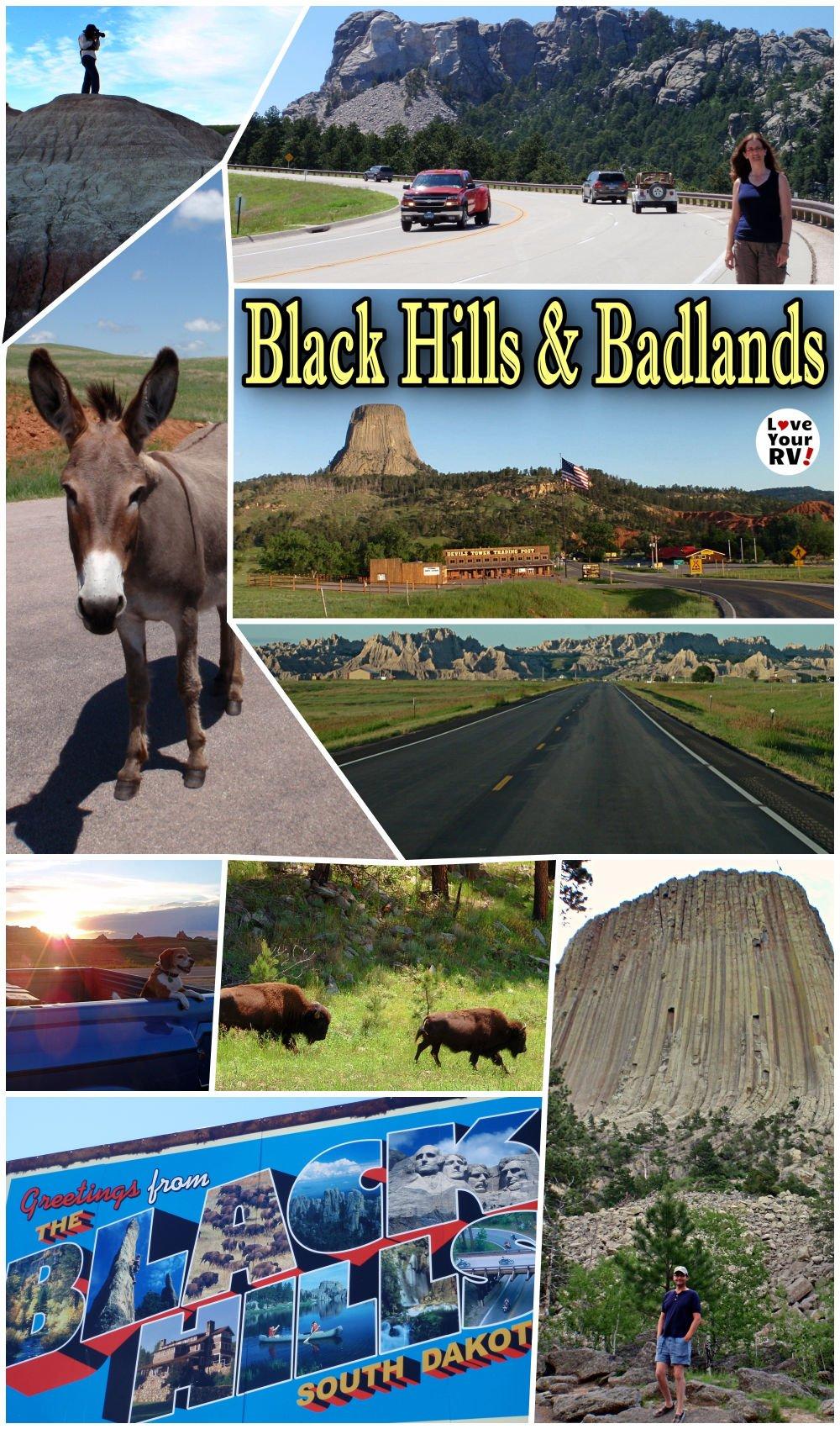 Devils Tower, Black Hills and Badlands NP - Throwback Video (July 2011)