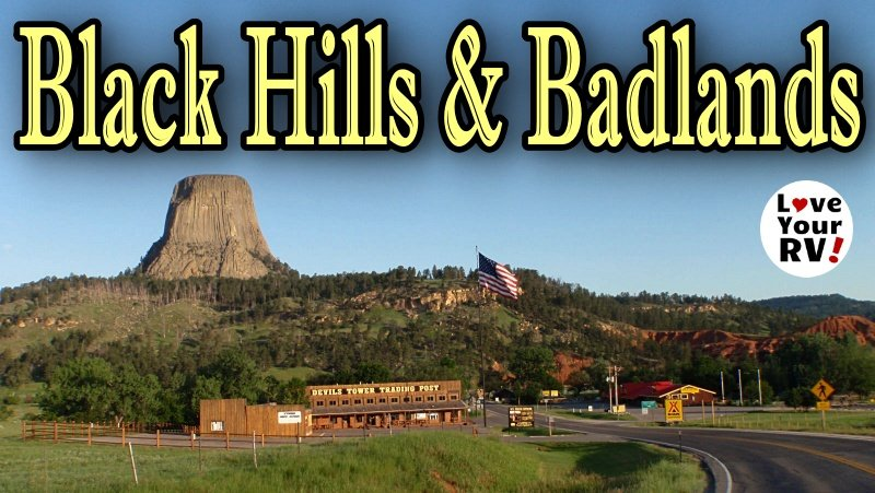 Devils Tower, Black Hills and Badlands NP Feature Photo
