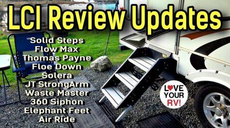 LCI RV Product Review Updates + Sneak Peek at Next Install