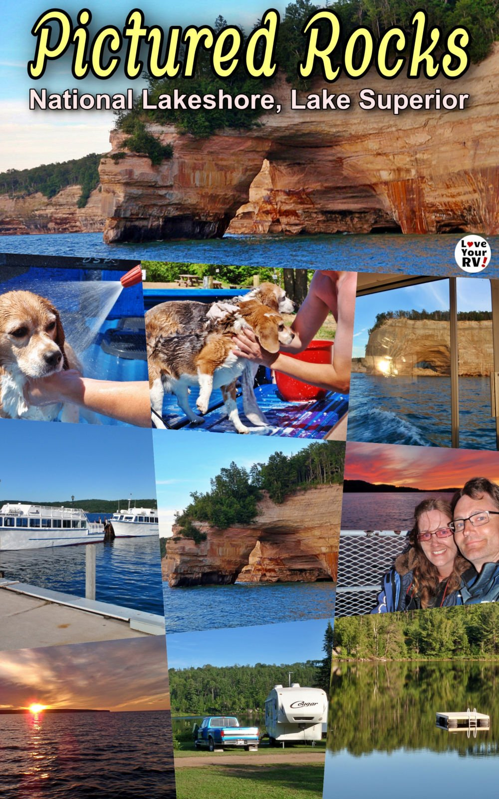 Pictured Rocks National Lakeshore - Throwback Video (July 2011)