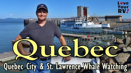 Quebec City & Whale Watching on the St Lawrence – Throwback Video (July 2011)