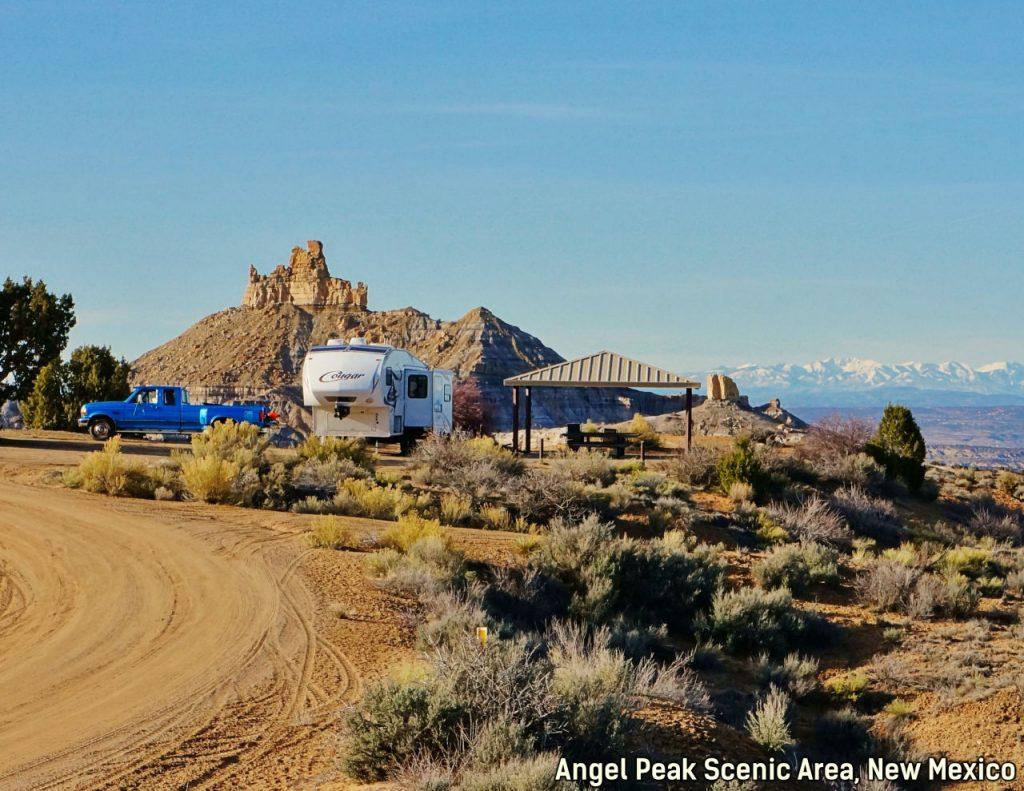 Angel Peak New Mexico