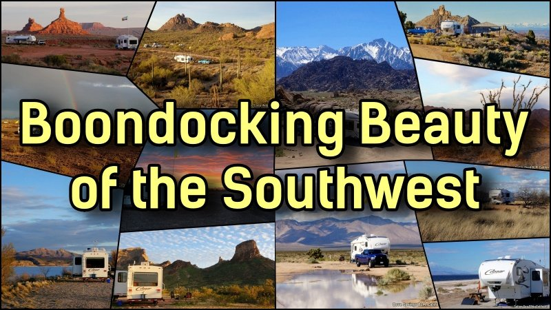 Boondocking Beauty of the SouthWest Feature Photo