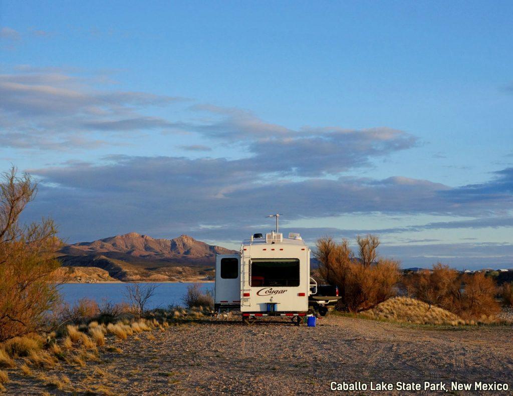 Cabillo State Park New Mexico