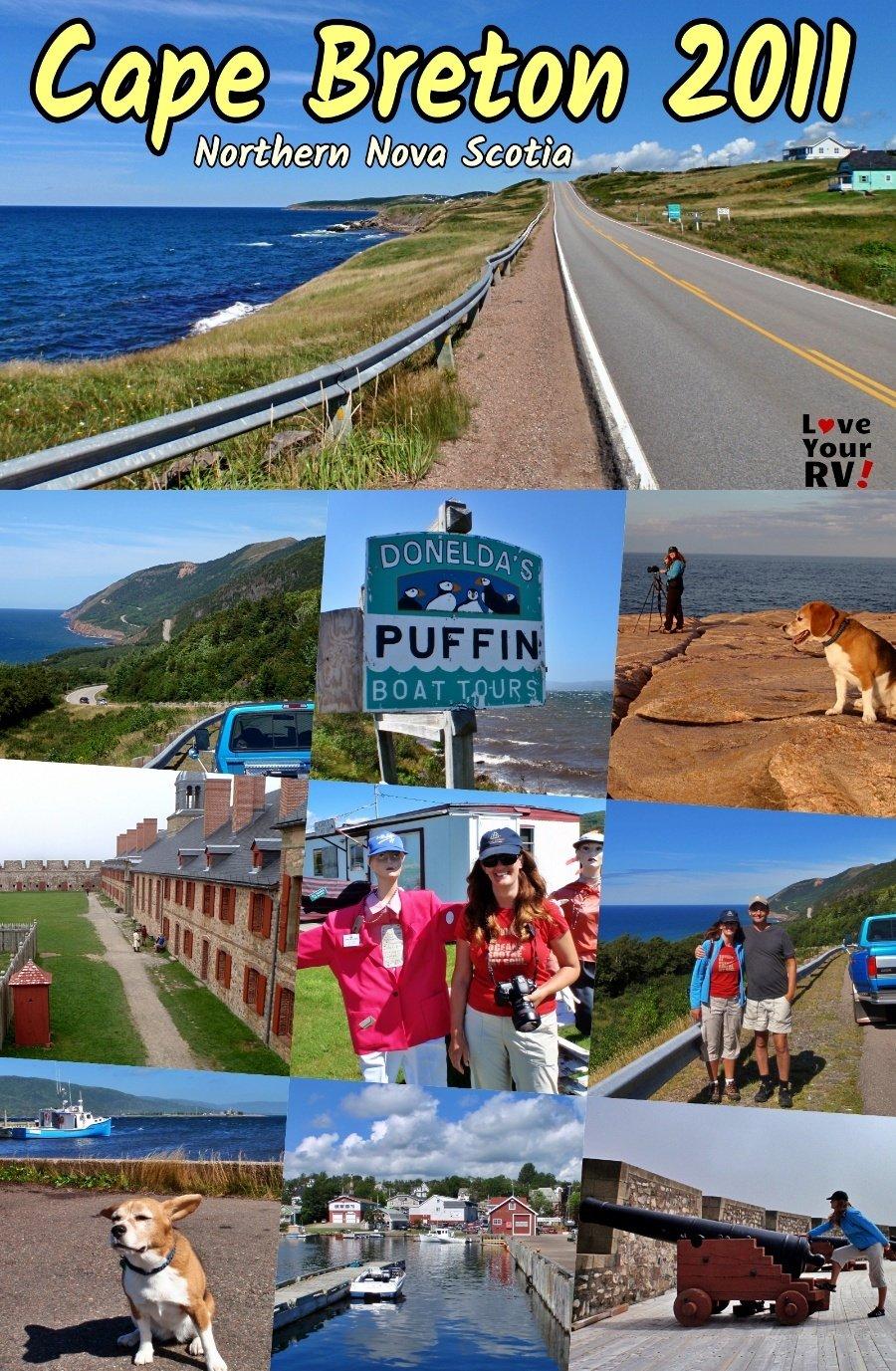 Exploring Cape Breton Island The Cabot Trail and Fort Louisberg Nova Scotia 2011 Throwback Video