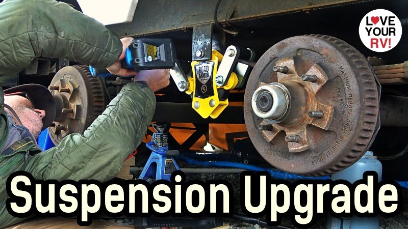 Lippert Components Trailer Suspension Upgrade Feature Photo