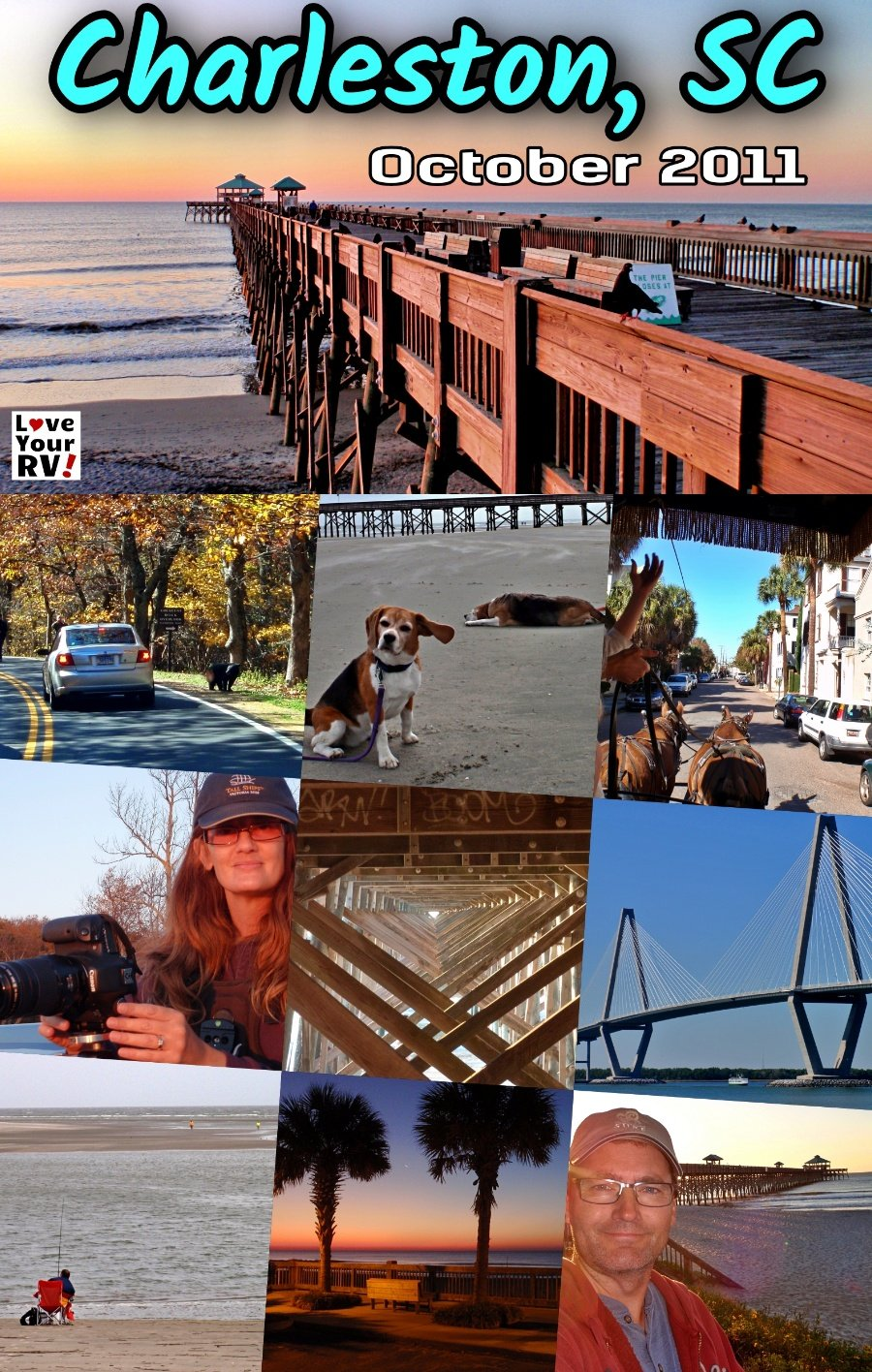 Our Visit to Charleston, SC LYRV Throwback Video Series 2011-12 RV Trip