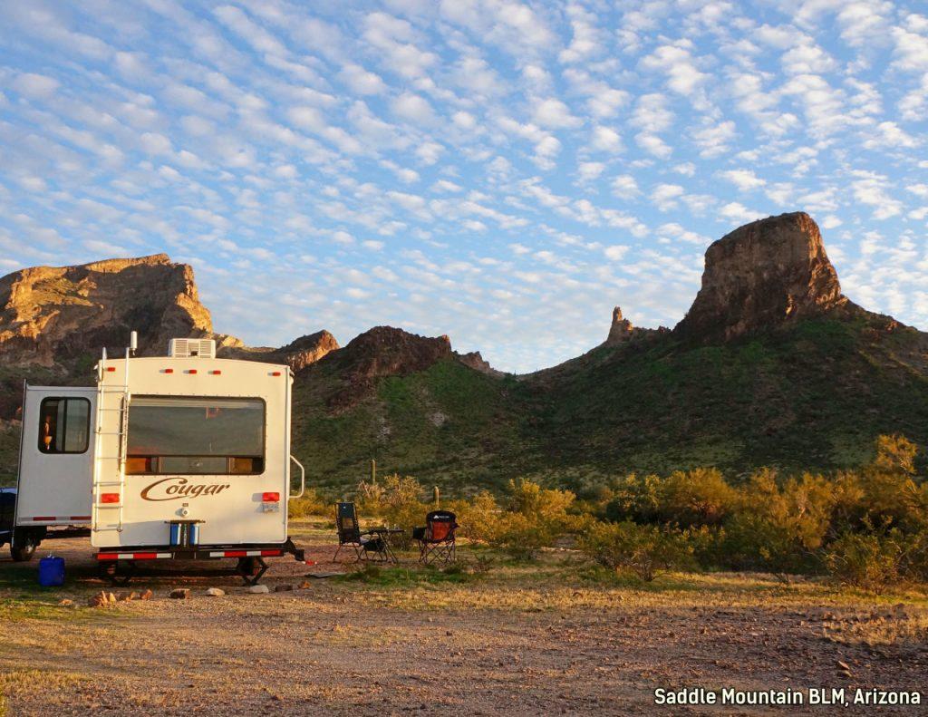 Saddle Mountain Arizona