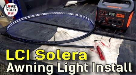 LCI Solera Awning Light Install + Extra Power Switch Mod