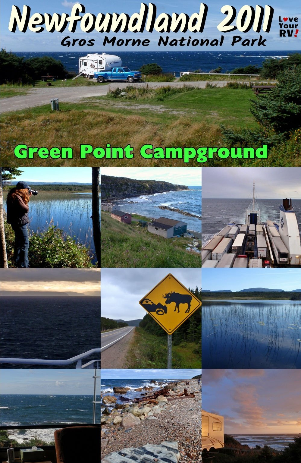 Visit to Green Point Campground in Gros Morne National Park Newfoundland Canada