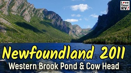 Newfoundland Fjord Boat Tour and Cow Head Rocks – Throwback Video Sept 2011