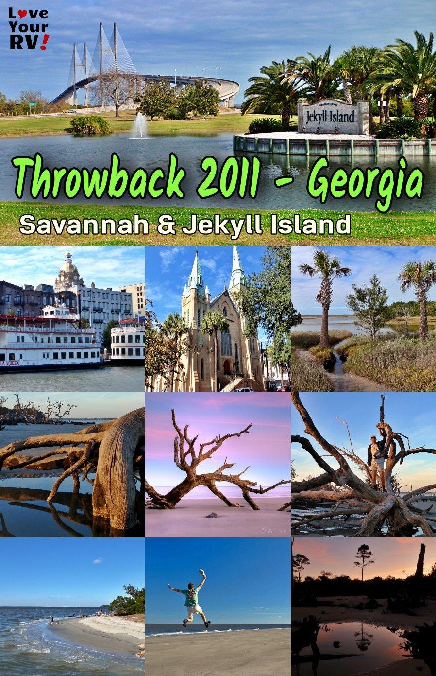 Coastal Georgia (Savannah & Jekyll Island) Nov 2011 Throwback Video