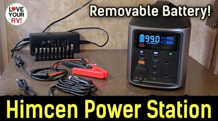 HIMCEN H740 Pro Portable Power Station w/Removable Battery Pack!