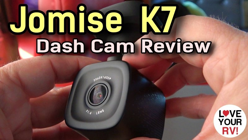 Jomise K7 Dashcam Review Feature Photo