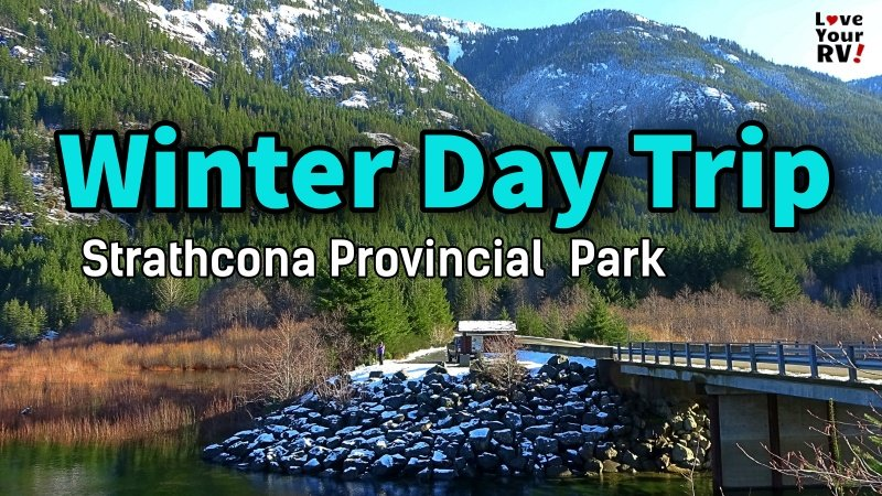 Strathcona Winter Day Trip Feature Photo