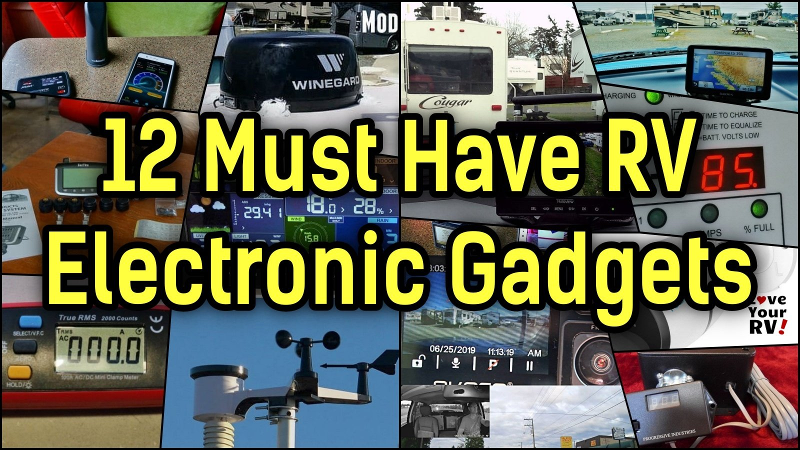 12 Must Have RV Electronic Gadgets Feature Photo