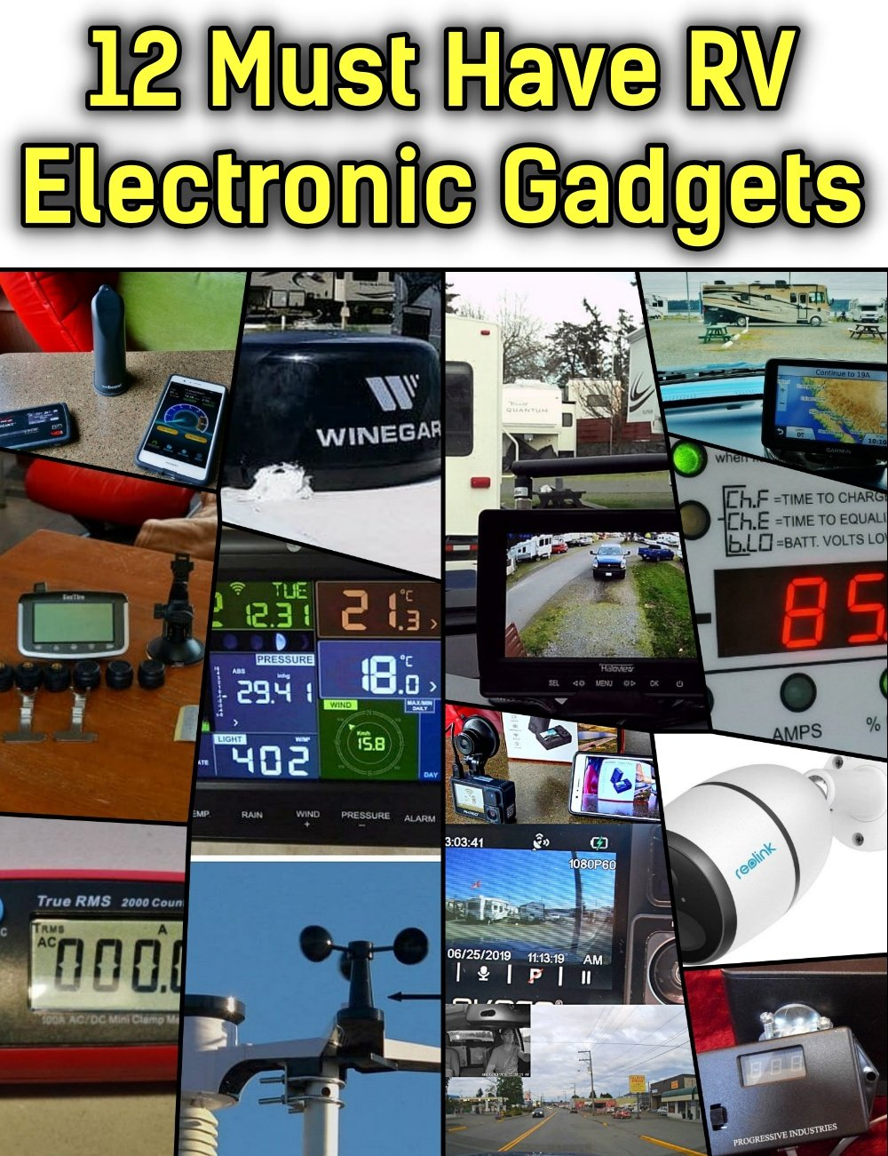 12 Must Have RV Electronics Gadgets and Gear