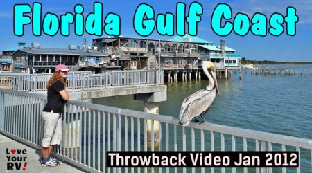 Visits Along the Florida Gulf Coast January 2012 – Throwback Video Series