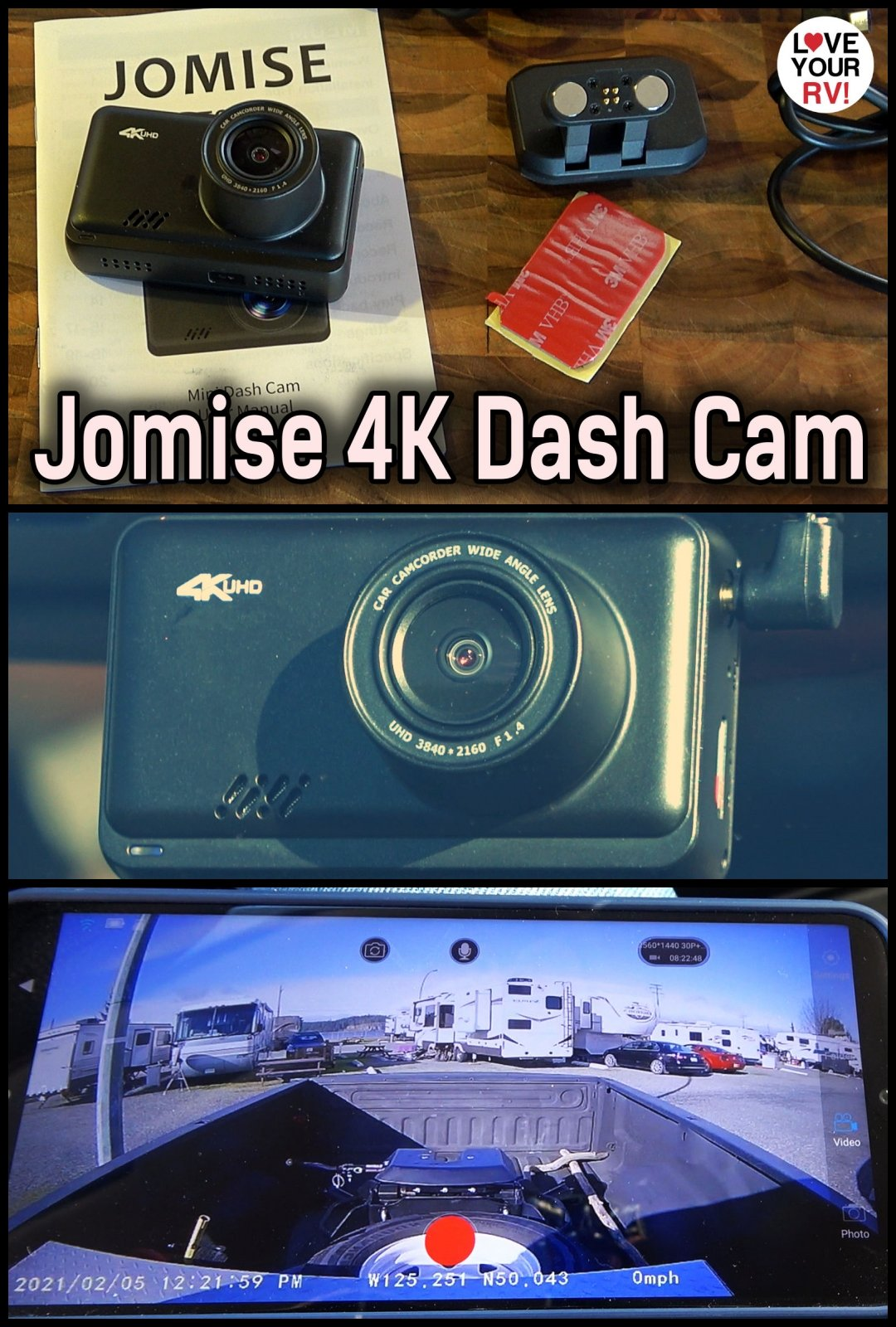 Reviewing the Jomise Model F2S 4K Dual Dash Cam