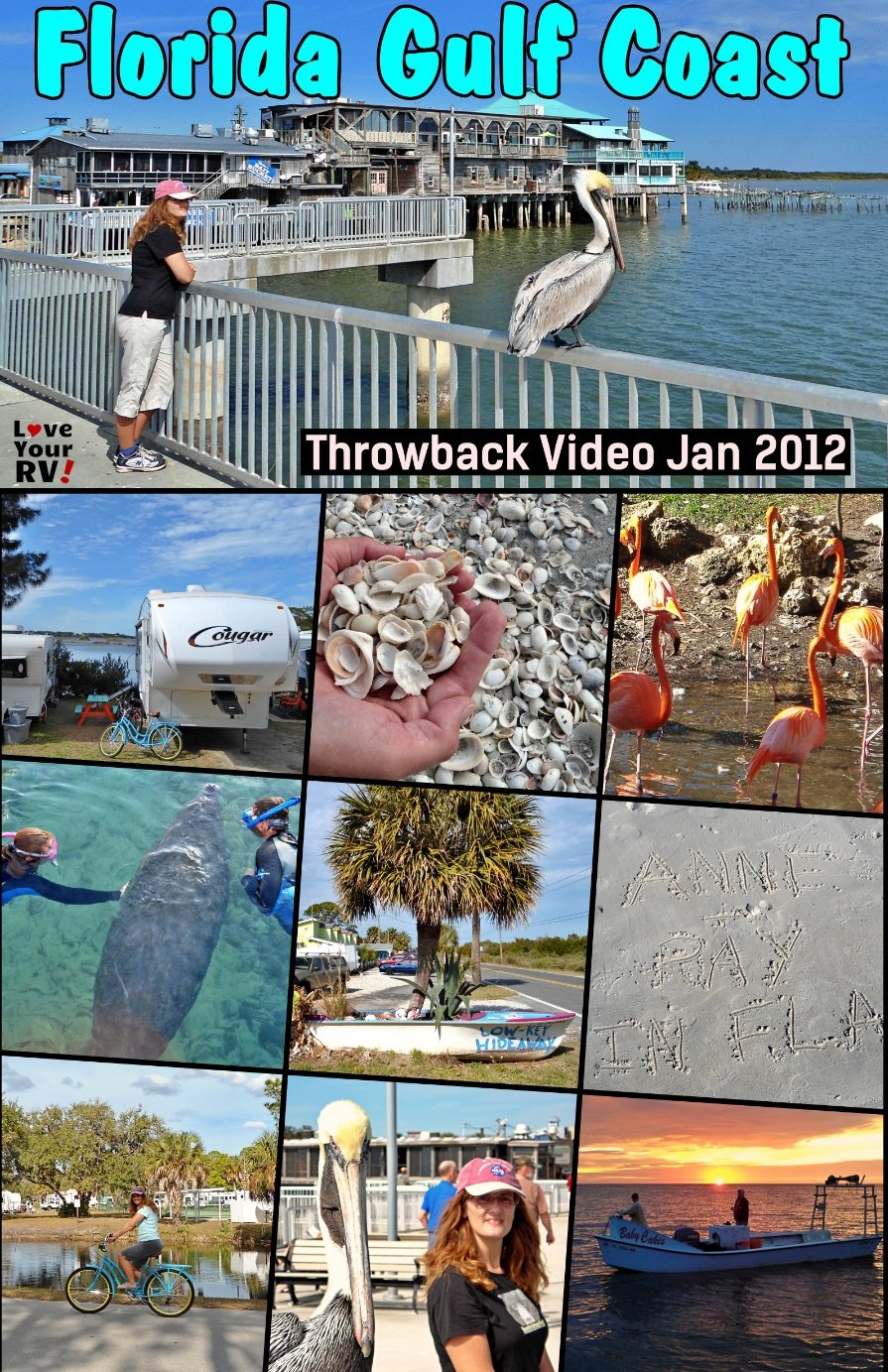 Throwback video from an RV trip up the Florida Gulf Coast in January 2012
