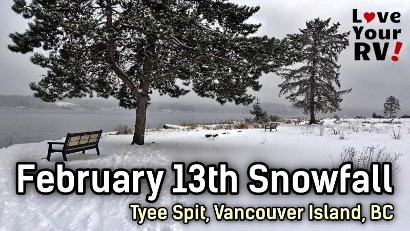 Walk in the Snow February on Vancouver Island BC Feature Photo