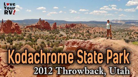 Kodachrome Basin State Park, Utah – 2012 Throwback Video Series