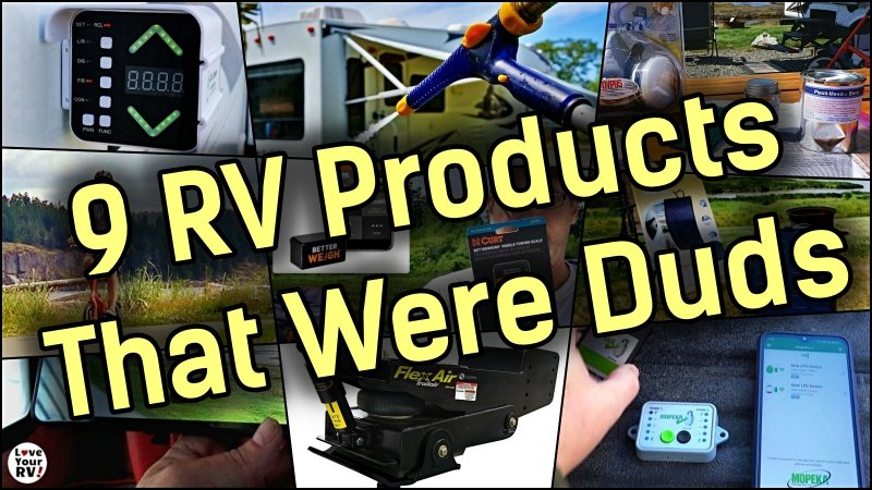 Nine RVing Products That Were Duds Feature Photo