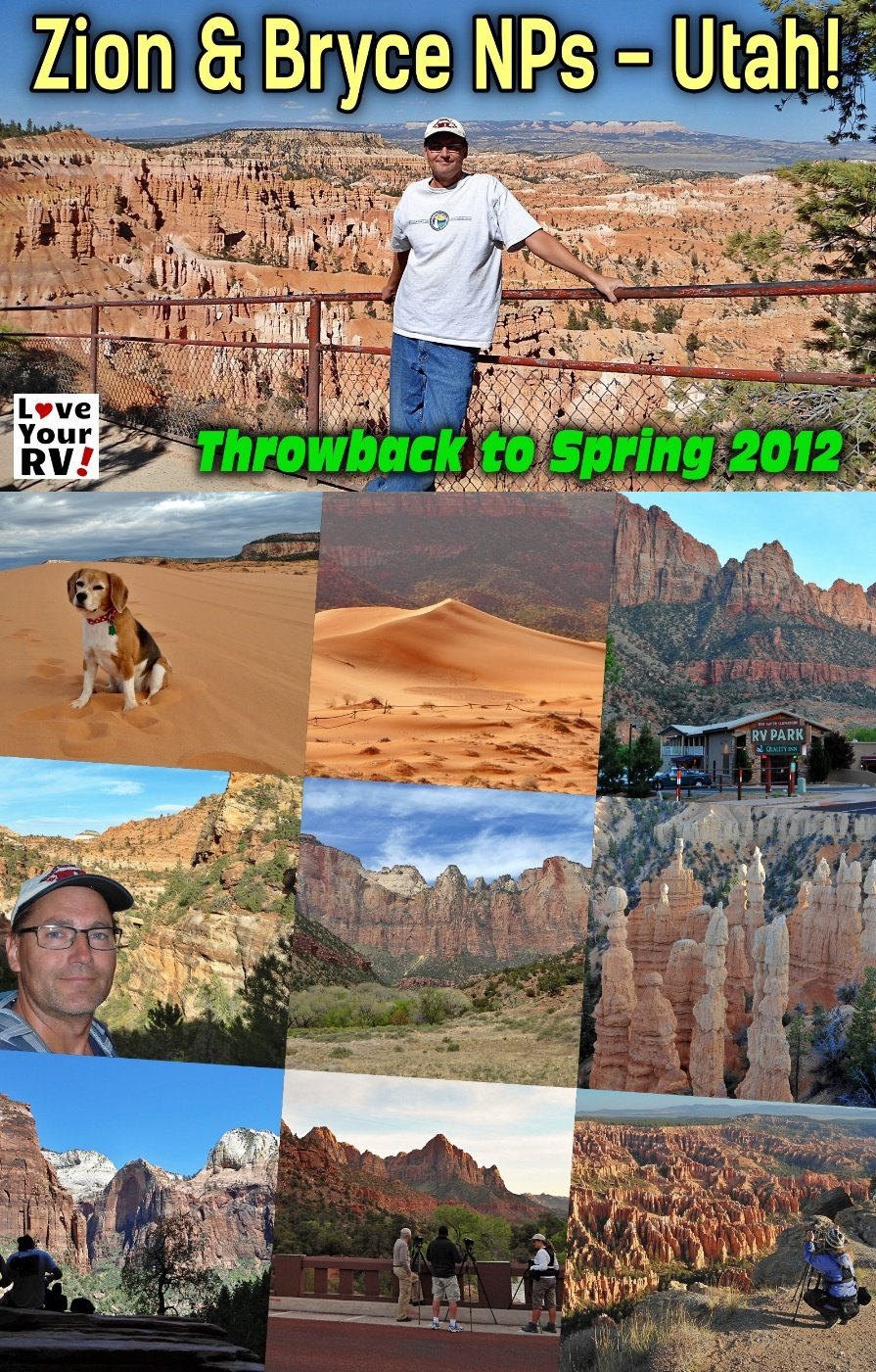 Visits to Zion and Bryce National Parks in Spring 2012 Throwback Video Series