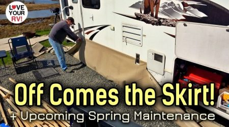 End of Winter Update + Upcoming Spring RV Maintenance Projects