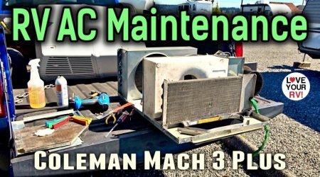 RV Air Conditioner Maintenance – New Gasket Seal + Clean & Lube