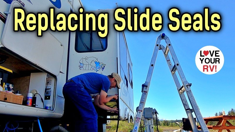 Replacing RV Slideout Rubber Seals Feature Photo