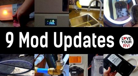 9 Recent RV Mods – Update Video on How They Are Performing