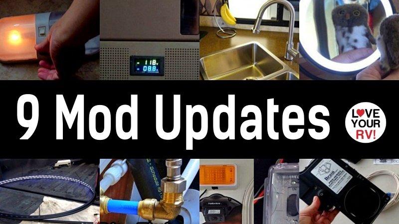 9 Mod Updates Feature Photo